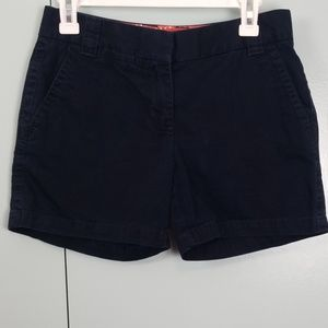 J.Crew dark navy short size 0 -C3